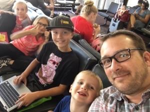 Kids, airport, bliss